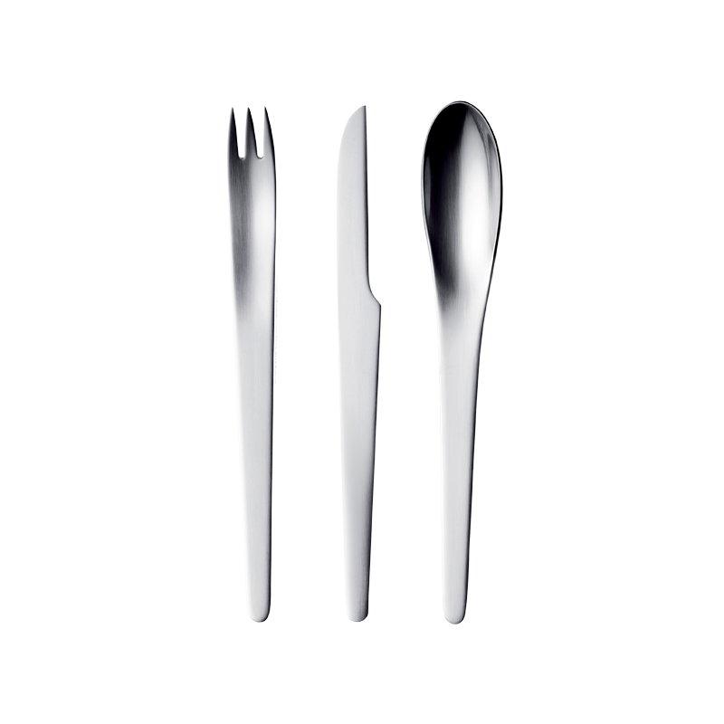 Georg jensen arne jacobsen cutlery set 24 parts finnish design shop - Arne jacobsen flatware ...
