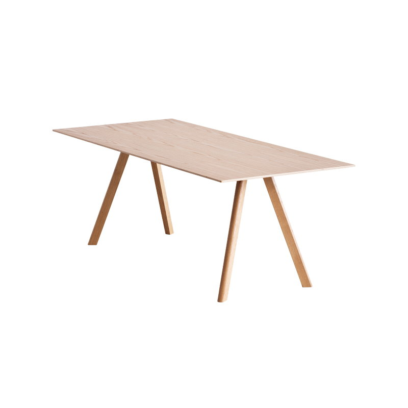 Copenhague CPH30 Table, Lacquered Oak