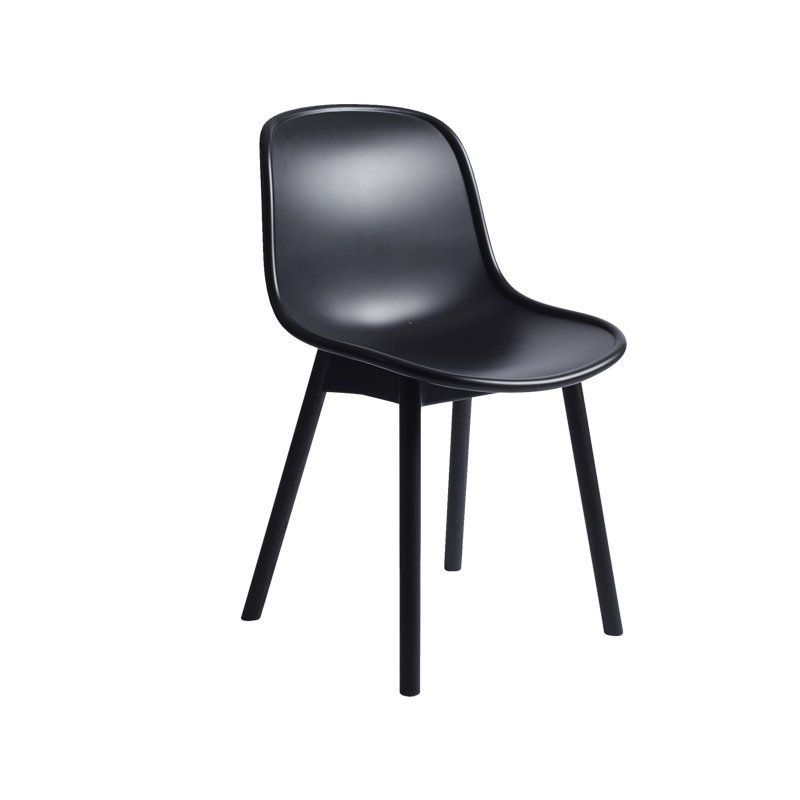Hay sedia neu13 nero nero finnish design shop for Sedia hay