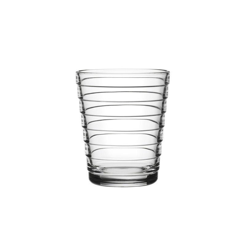 iittala aino aalto tumbler 22 cl clear set of 2. Black Bedroom Furniture Sets. Home Design Ideas