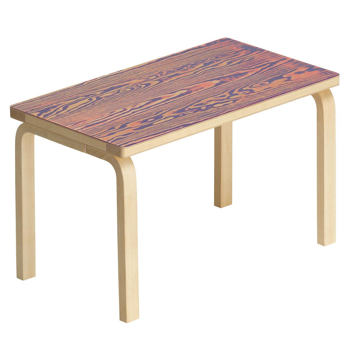 Remarkable Artek Aalto Bench 153B Coloring Pink Purple Finnish Machost Co Dining Chair Design Ideas Machostcouk