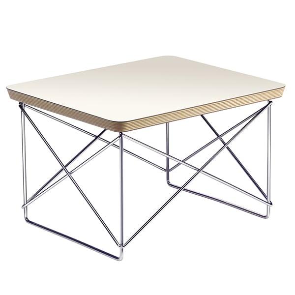 Vitra Eames LTR Occasional pöytä, valkoinen - kromi