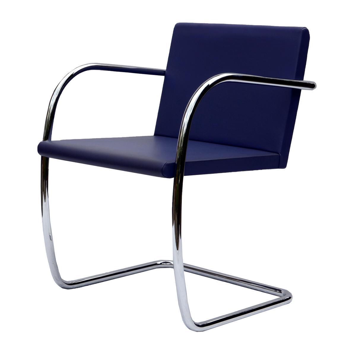 Knoll Brno side chair dark purple Pre used design