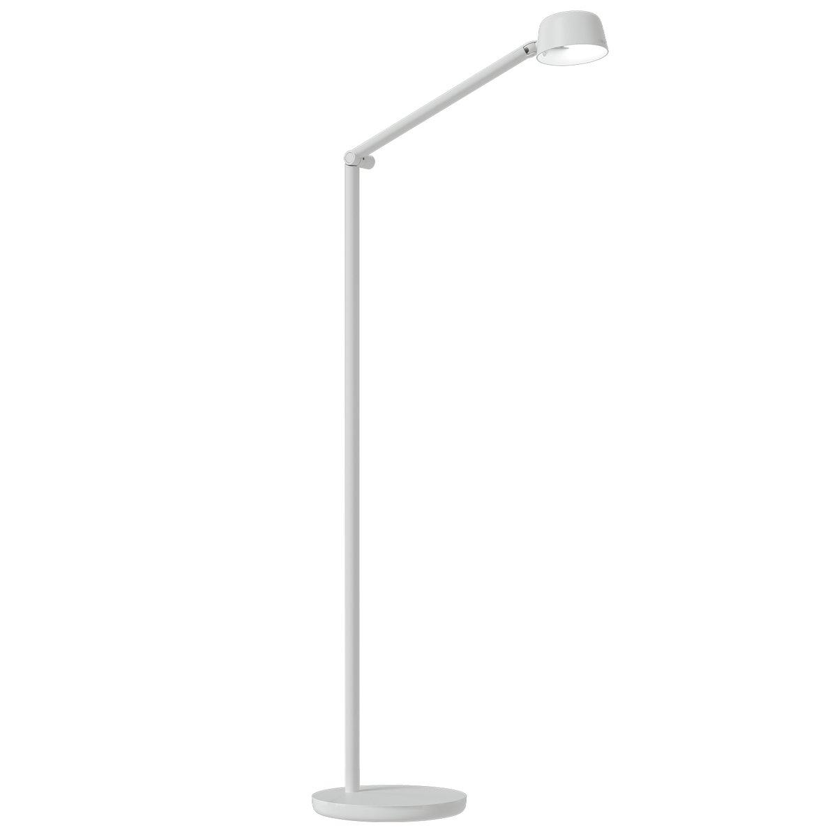 Luxo Motus Floor-2 Floor Lamp, White