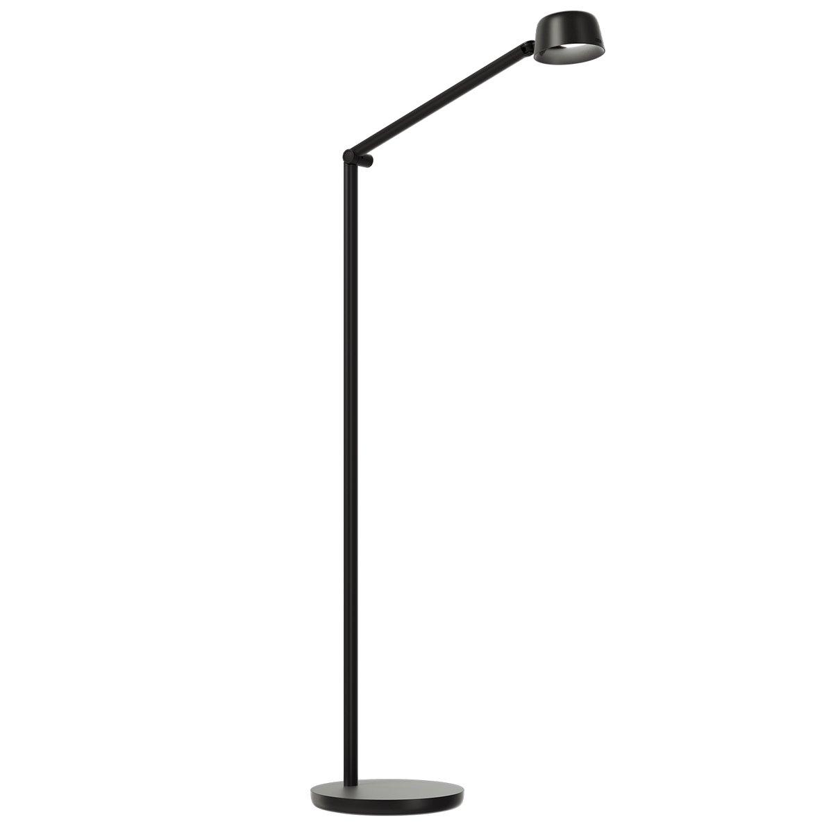 Luxo Motus Floor-2 Floor Lamp, Black