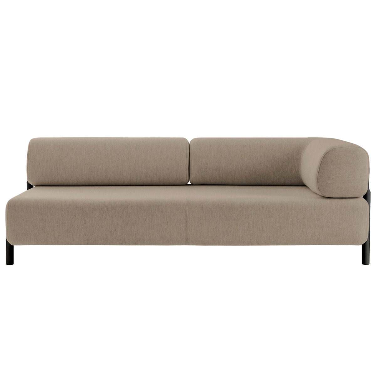 Hem Palo 2-Seater Chaise, Right, Beige