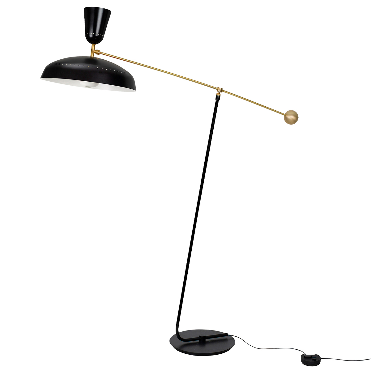 Sammode G1 Floor Lamp, Black