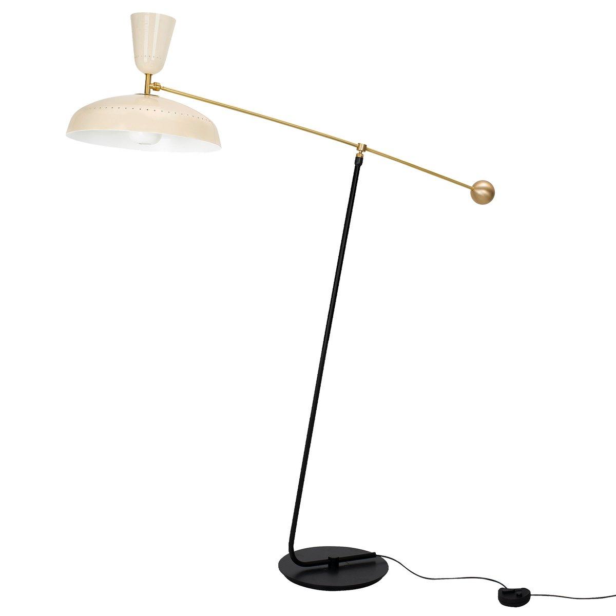 Sammode G1 Floor Lamp, Chalk