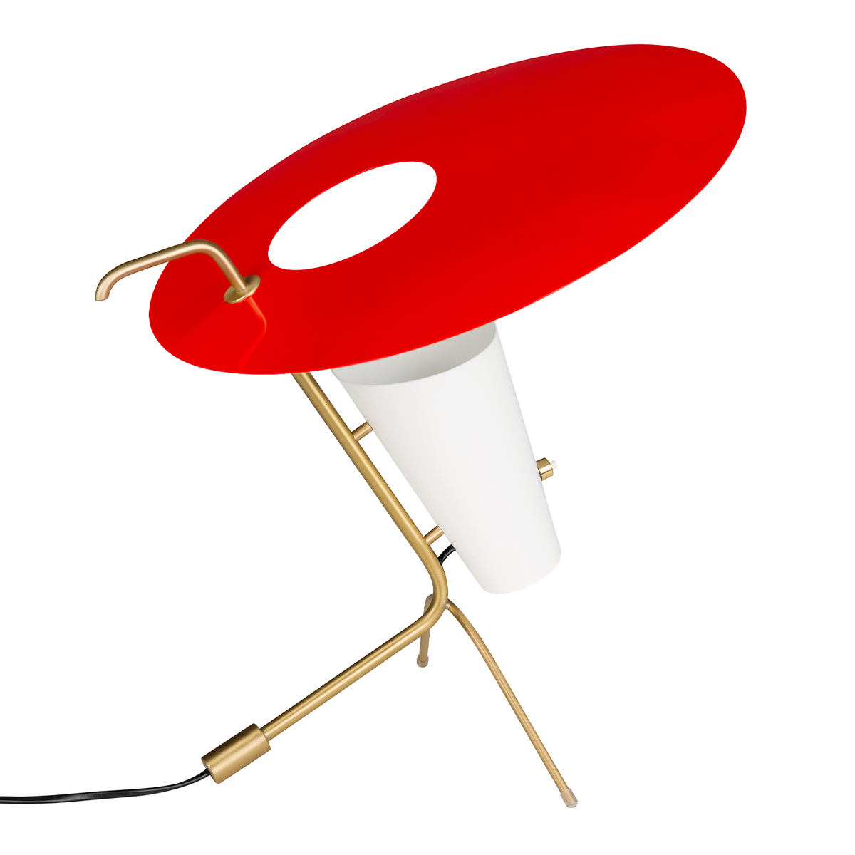 Sammode G24 Table Lamp, Vermilion Red