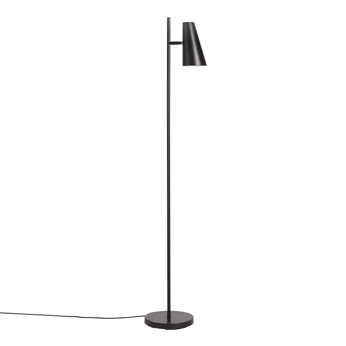Woud Cono Floor Lamp, Black