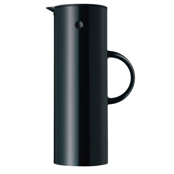 stelton em77 vacuum jug 1 0 l black finnish design shop. Black Bedroom Furniture Sets. Home Design Ideas